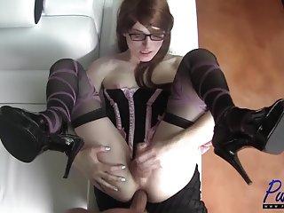 更好的视频共享站点色情的红头发的美丽娜塔莉喜欢肛门