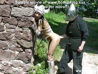 大免费色情视频画廊的野蛮人骑士拳交的肛门