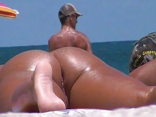 强盗色情影片海滩的屁股和阴部高速公路