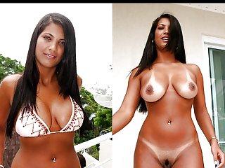 阿凡达的视频色情穿好衣服,赤裸裸的业余试镜的魅力
