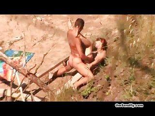 阿拉丁的茉莉色情影片史诗般的海滩,美女